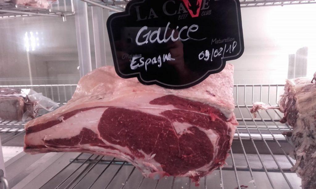 blonde de galice viande restaurant grillade